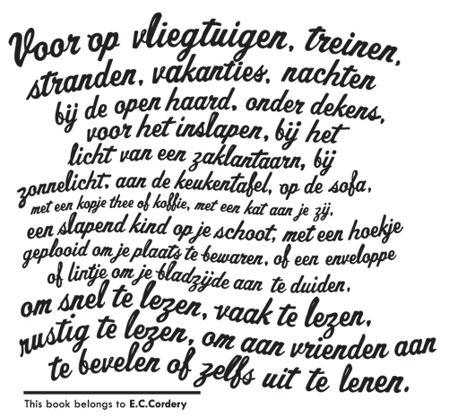 Ex Libris Dutch